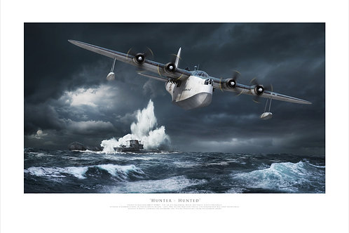 Short Sunderland - Hunter Hunted