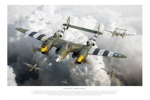 P38 Lightning - Escort Lightning