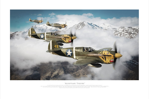 Curtiss P40 - Aleutian Tigers