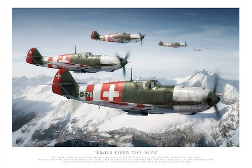 Messerschmitt - Emils Over The Alps