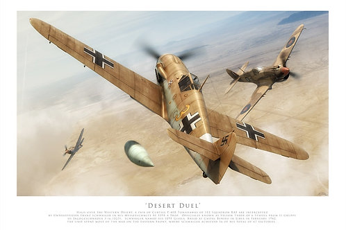 Messerschmitt Bf 109F- Desert Duel