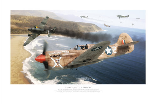 Curtiss P40 - Palm Sunday Massacre