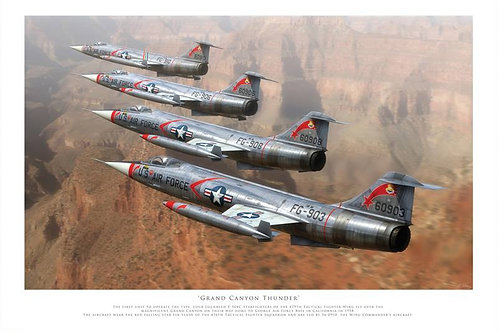 F104 Starfighter - Grand Canyon Thunder