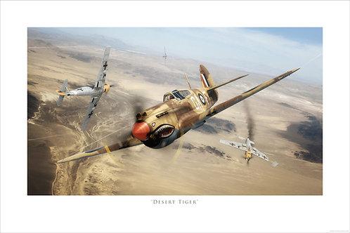 Curtiss Tomahawk - Desert Tigers