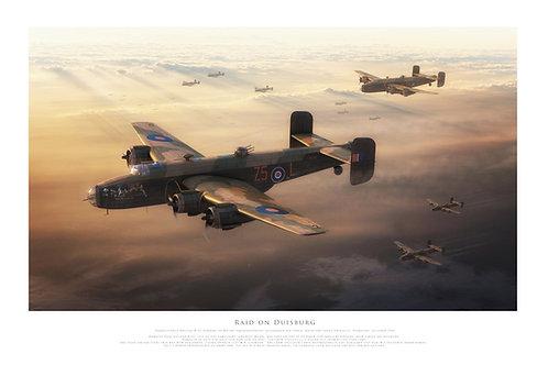 Handley Page Halifax - Raid On Duisburg
