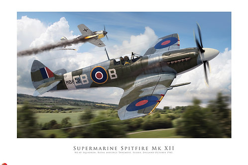 Spitfire Mk XII - Airfix