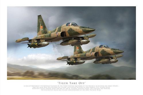 Northrop F5 - Tiger Take Off
