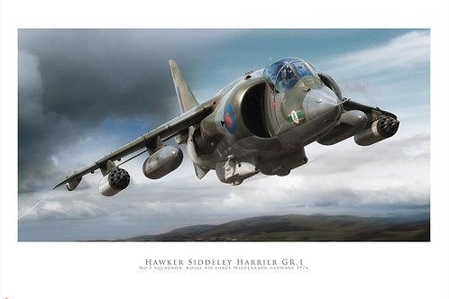 Harrier GR1 - Airfix