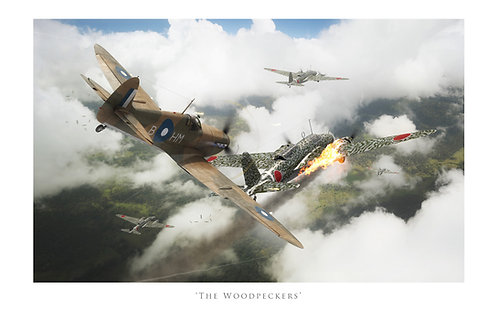 Spitfire VB - The Woodpeckers
