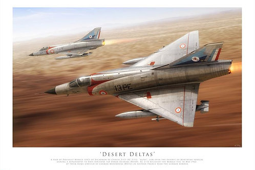 Mirage IIIC - Desert Deltas