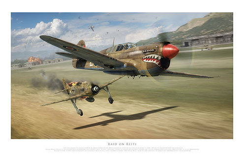 Curtiss Kittyhawk - Raid On Reiti