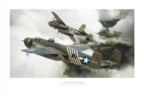 B25 Mitchell- Big Guns Over Burma