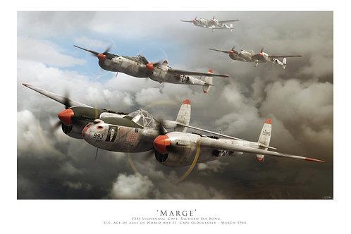 P38 Lightning - Marge