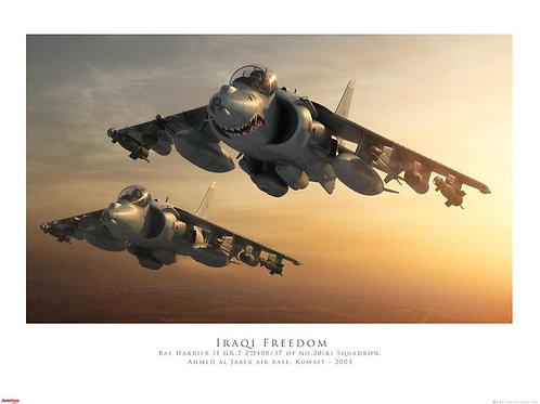 Harrier - Iraqi Freedom