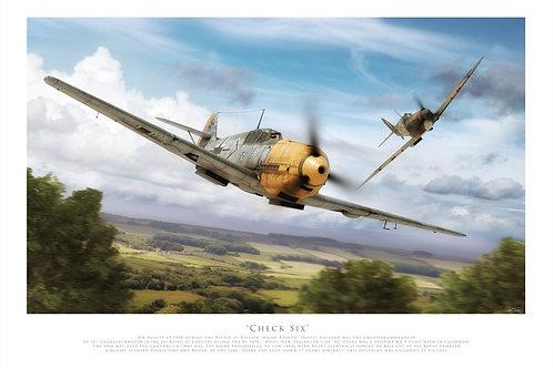 Messerschmitt Bf 109E- Check six
