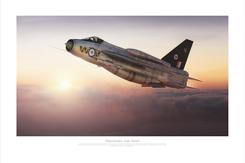 English Electric Lightning - Touching The Void