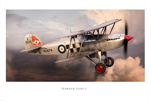Hawker Fury - Airfix