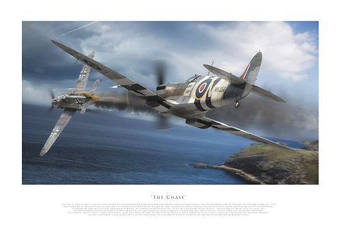 Spitfire Mk356 - The Chase