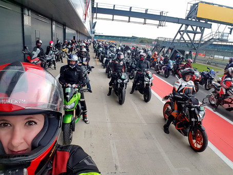 Diavel, parade, world record, track, Silverstone- ladies Saturday!