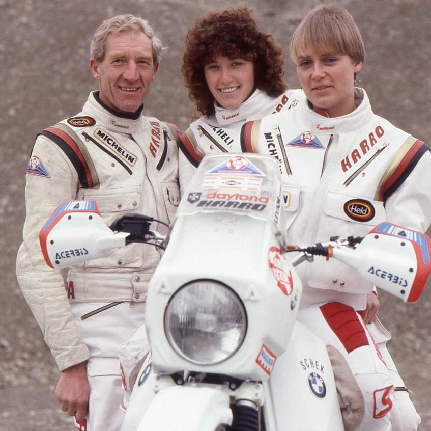 1988 Dakar team Jutta Kleinschmidt
