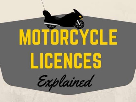 #TeachingTuesday -Getting a full motorcycle licence – what's involved?