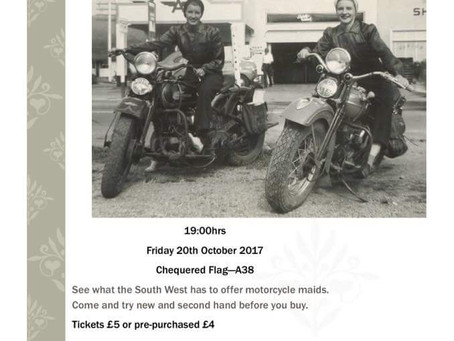 Motorcycle Maids Fashion Show- 20th of October