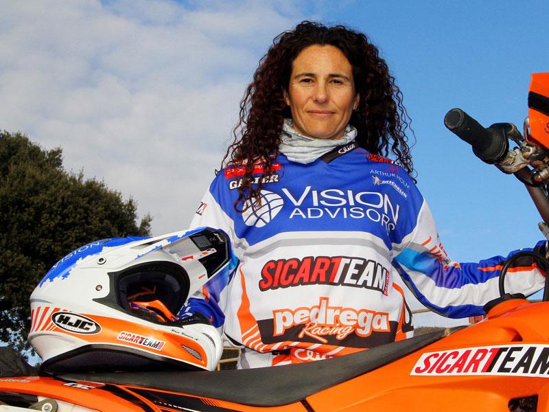 Rosa Romero pre Dakar 2014