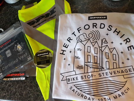 First Spidi Tour UK- The Bike Stop Stevenage feels like a big family