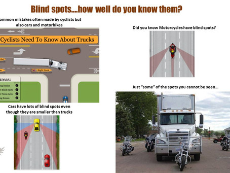 #TeachingTuesday-Blind Spots and Air Turbulence around lorries