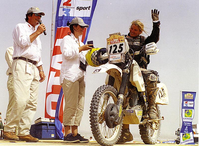 Annie Seel_Dakar 2002