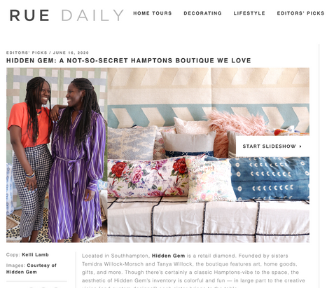 Rue Daily | Editors' Picks | June 16th, 2020
