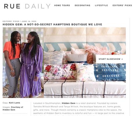 Rue Daily | Editors' Picks | June 16th, 2020