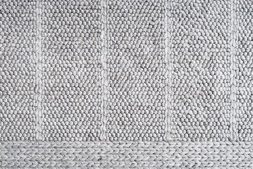 VB   Knit Rug   Gray  