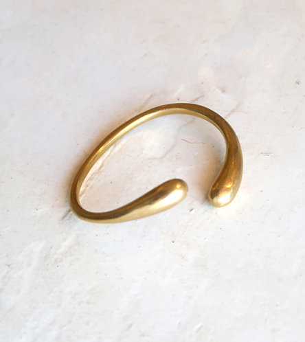 Brass Cuff Drop Curve Design