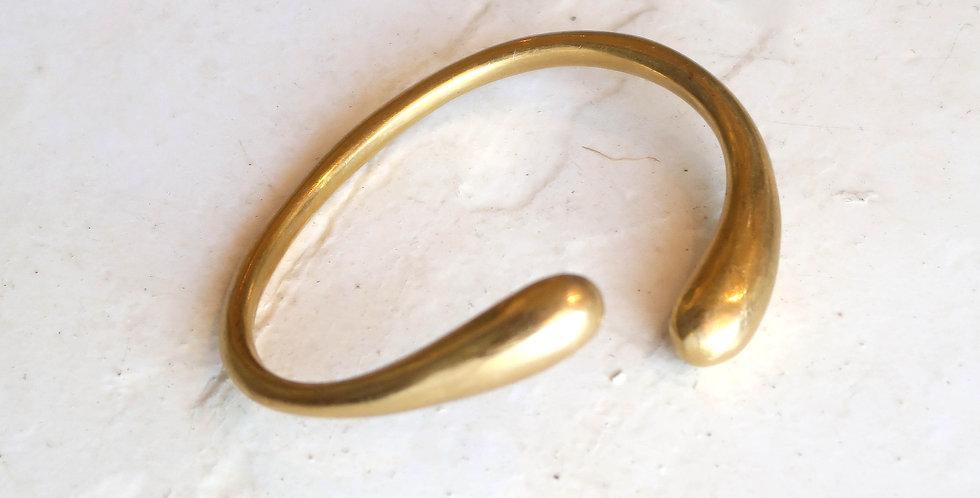Brass Cuff Drop Curve Design