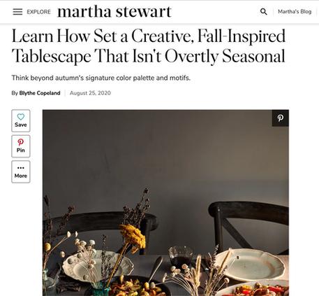 Martha Stewart.com | August 25, 2020