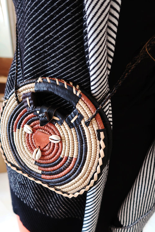 Leather Cross Body Bag | Mini