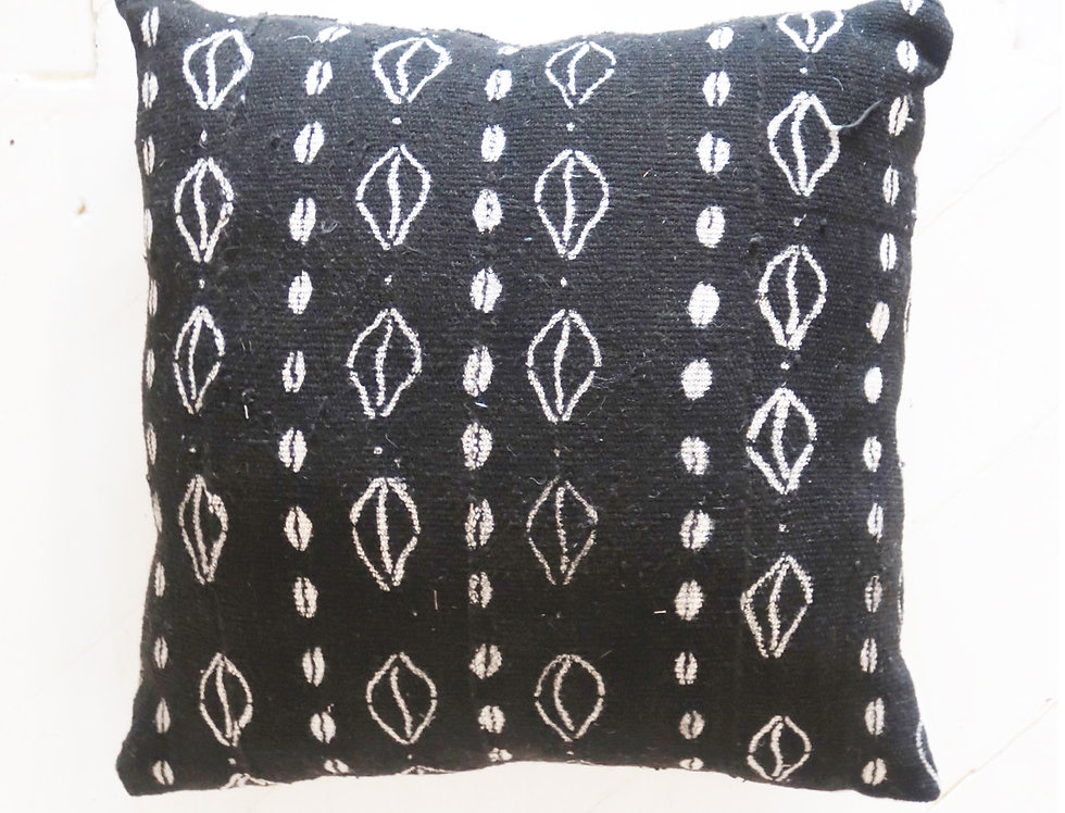 VB | Mudcloth Pillow | Two Sided