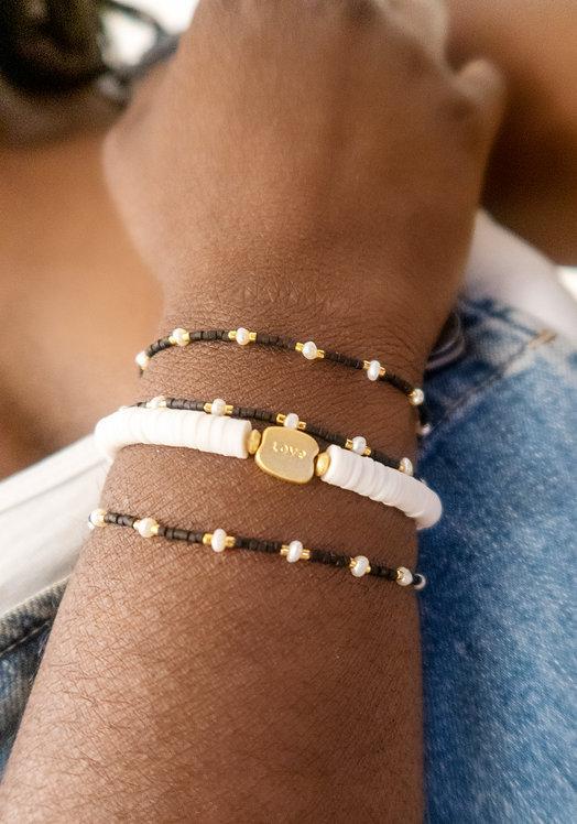 Bead Pearl Bracelet