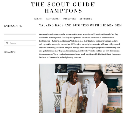 TALKING RACE AND BUSINESS WITH HIDDEN GEM