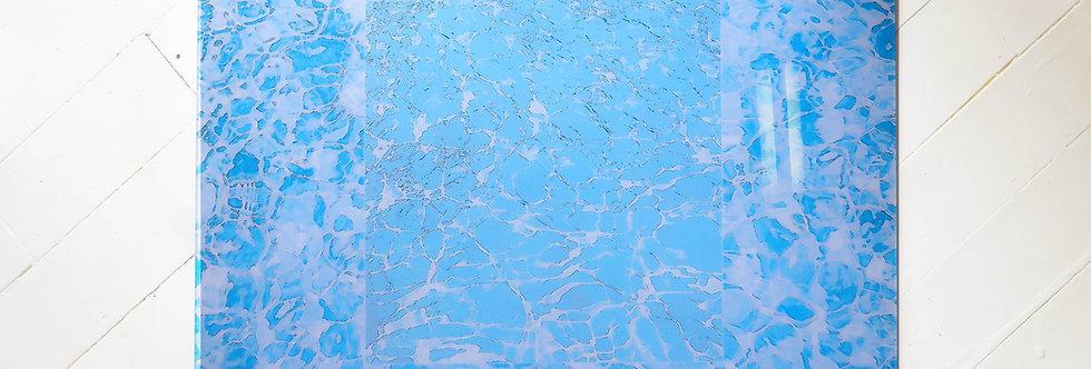 Plexiglass Water Graphic