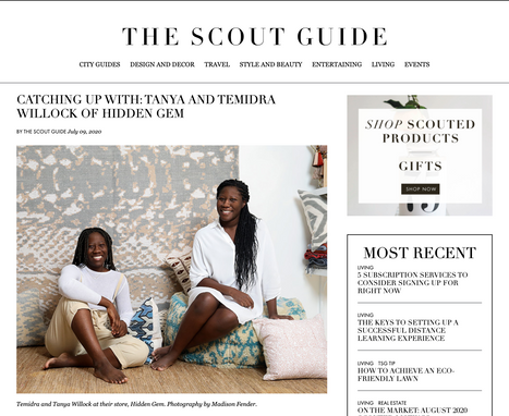 CATCHING UP WITH: TANYA AND TEMIDRA WILLOCK OF HIDDEN GEM