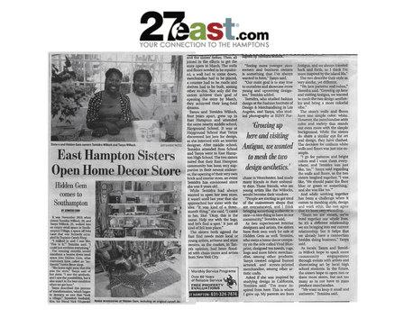 The East Hampton Press and South Hampton