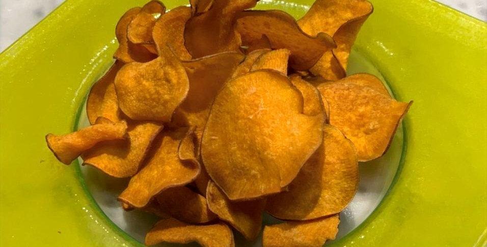 Фирменные чипсы из батата