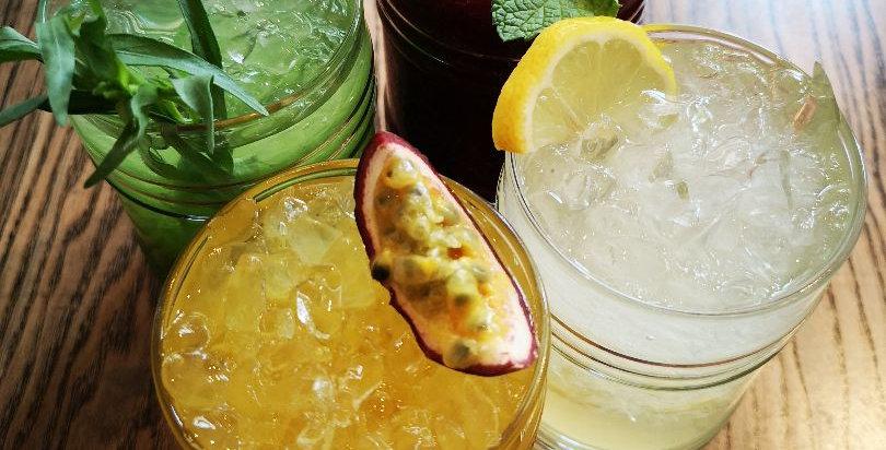Домашний лимонад имбирно-ягодный (1 литр)