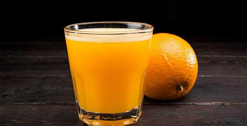 Фреш из апельсина