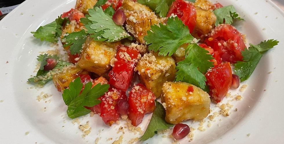 Баклажаны с соусе Чили