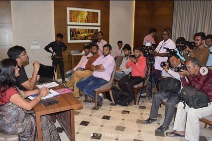 Press Conference Vipra Goyal