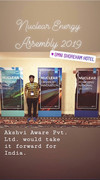 Vipra Goyal - Akshvi AWARE - in Nuclear Energy Assembly Conference
