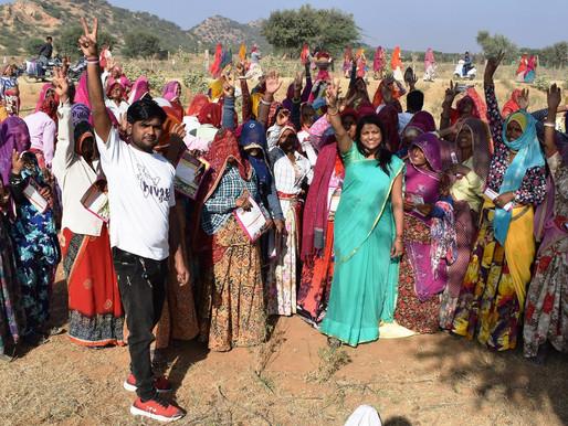 ग्रामीण महिलाओं को किया जागरुक, नदियाँ जोड़ने का लिया संकल्प - डॉ. नीलम
